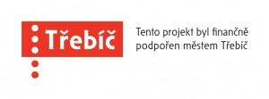 Logo TŘEBÍČ Fin. podpora projektu, šířka